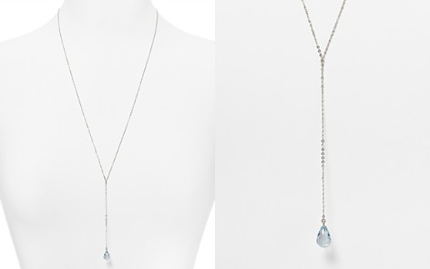 "Sterling Silver and Blue Topaz Y Necklace, 26"" - 100% Exclusive - Bloomingdale's_2"