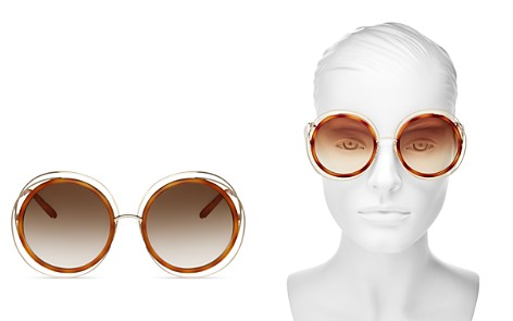 Chloé Women's Carlina Oversized Round Sunglasses, 58mm - Bloomingdale's_2