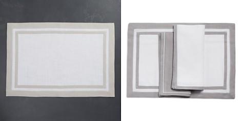 Matouk Rectangle Placemats, Set of 4 - Bloomingdale's_2