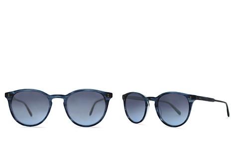 GARRETT LEIGHT Surfers Healing Hampton Round Sunglasses, 48mm - Bloomingdale's_2