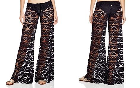 PilyQ Malibu Lace Swim Cover-Up Pants - Bloomingdale's_2