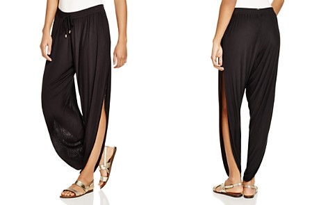 Laundry by Shelli Segal Solid Draped Swim Cover-Up Pants - Bloomingdale's_2