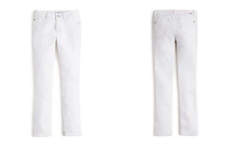 DL1961 Girls' White Skinny Chloe Jeans - Big Kid - Bloomingdale's_2