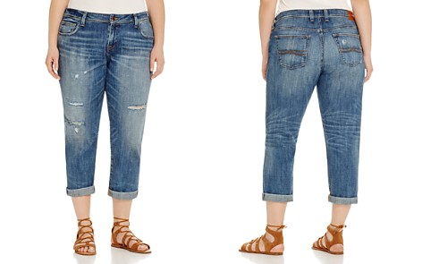 Lucky Brand Plus Reese Distressed Boyfriend Jeans in Northridge Park - Bloomingdale's_2