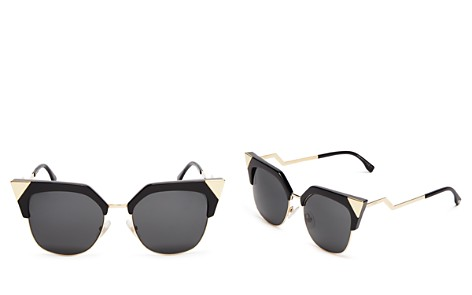 Fendi Women's Iridia Cat Eye Sunglasses, 54mm - Bloomingdale's_2