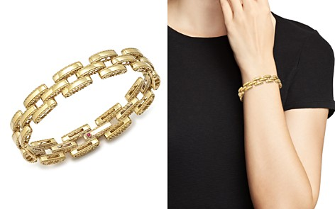 Roberto Coin 18K Yellow Gold Retro Bracelet - Bloomingdale's_2