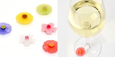 Charles Viancin Floral Drink Markers, Set of 6 - Bloomingdale's_2