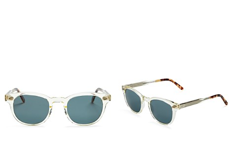 GARRETT LEIGHT Warren Polarized Sunglasses, 46mm - Bloomingdale's_2