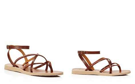 Joie Oda Studded Ankle Strap Flat Sandals - Bloomingdale's_2