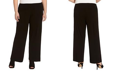 Karen Kane Plus Matte Jersey Wide-Leg Pants - Bloomingdale's_2