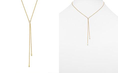 "KC Designs 14K Yellow Gold Diamond Bezel Y Necklace, 16"" - Bloomingdale's_2"