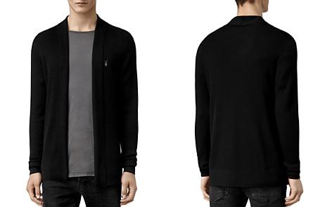 ALLSAINTS Mode Merino Wool Open Cardigan Sweater - Bloomingdale's_2