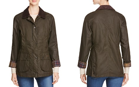 Barbour Classic Beadnell Waxed Cotton Jacket - Bloomingdale's_2