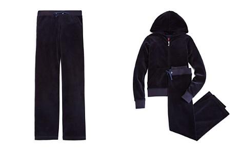 Juicy Couture Black Label Girls' Mar Vista Velour Pants, Big Kid - 100% Exclusive - Bloomingdale's_2