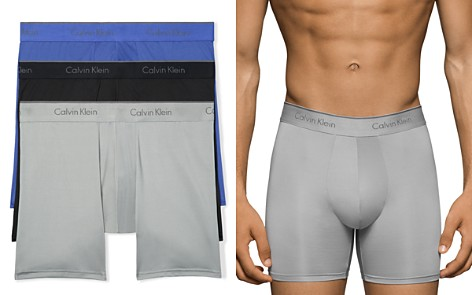 Calvin Klein Microfiber Stretch Boxer Briefs - Pack of 3 - Bloomingdale's_2