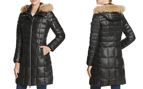 Marc New York Lindsay Fur Trim Down Coat - Bloomingdale's_2