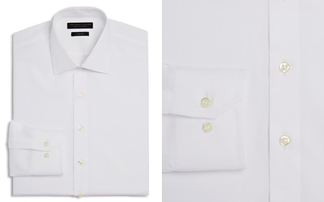 The Men's Store at Bloomingdale's Textured Solid Slim Fit Basic Dress Shirt - 100% Exclusive_2