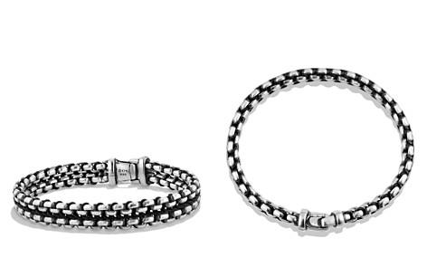 David Yurman Woven Box Chain Bracelet in Black - Bloomingdale's_2