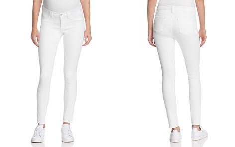 J Brand Mama J Skinny Maternity Jeans in Blanc - Bloomingdale's_2