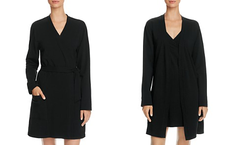 Naked Belted Stretch Jersey Robe - Bloomingdale's_2