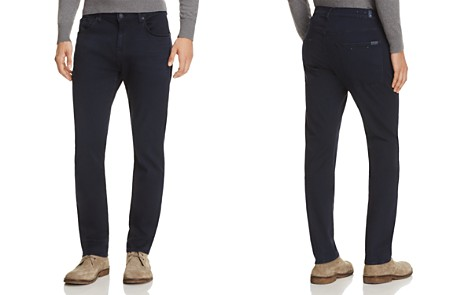 7 For All Mankind Luxe Sport Slimmy Slim Fit Jeans in Virtue - Bloomingdale's_2