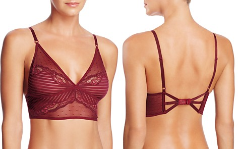 Thistle & Spire Mixed Lace Longline Bralette - Bloomingdale's_2