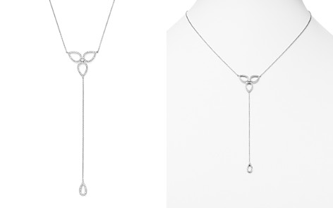 KC Designs Diamond Micro Pavé Y Necklace in 14K White Gold, .30 ct. t.w. - Bloomingdale's_2