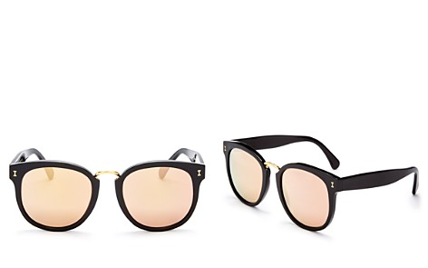 Illesteva Women's Sardinia Oversized Round Sunglasses, 53mm - Bloomingdale's_2
