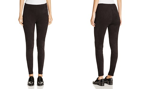 Lyssé High Waist Faux Suede Leggings - Bloomingdale's_2