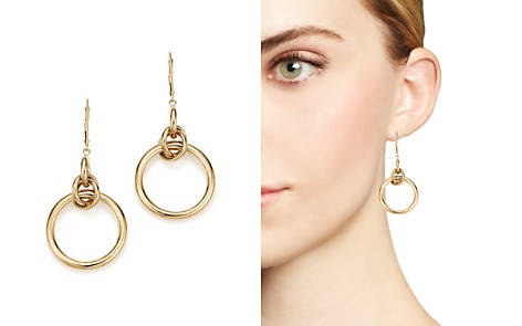 14K Yellow Gold Round Dangle Earrings - 100% Exclusive - Bloomingdale's_2