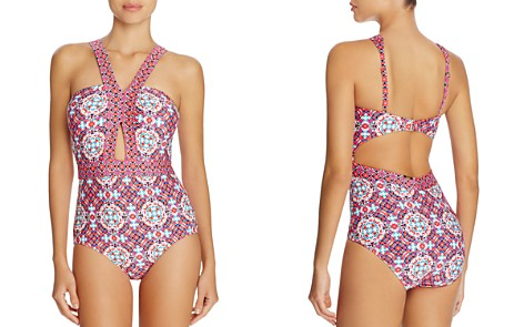 Laundry by Shelli Segal Mayan Escape One Piece Swimsuit - Bloomingdale's_2