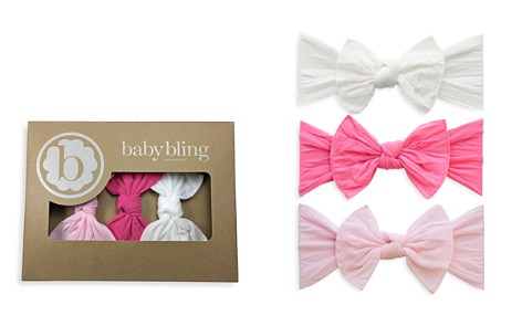 Baby Bling Infant Girls' Knot Headbands - Box Set of 3 - Bloomingdale's_2