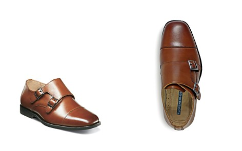 Florsheim Boys' Reveal Double Monk Strap Dress Shoes - Toddler, Little Kid, Big Kid - Bloomingdale's_2