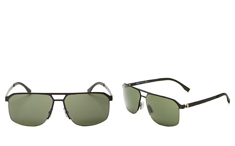 Hugo Boss Square Top Bar Sunglasses, 52mm - Bloomingdale's_2