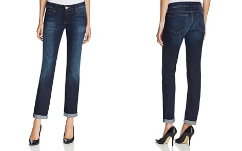 Mavi Emma Slim Boyfriend Jeans in Deep Brushed Vintage - Bloomingdale's_2