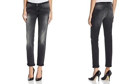 Mavi Emma Slim Boyfriend Jeans in Smoke - Bloomingdale's_2