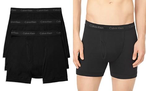 Calvin Klein Cotton Classics Boxer Briefs, Pack of 3 - Bloomingdale's_2