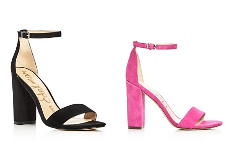 Sam Edelman Yaro Ankle Strap Block Heel Sandals - Bloomingdale's_2