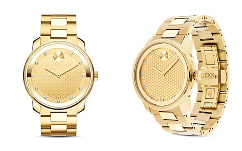 Movado BOLD Diamond Watch, 42.5mm - Bloomingdale's_2
