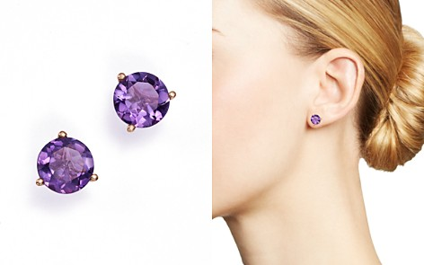 angara product basket set aaa stud amethyst round earrings sl p
