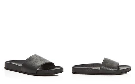 Vince Women's Gavin Leather Pool Slide Sandals - Bloomingdale's_2