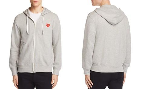 Comme Des Garçons PLAY Zip Hoodie Sweatshirt - Bloomingdale's_2
