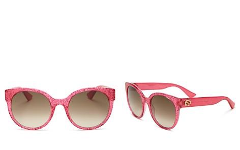 Gucci Gradient Cat Eye Sunglasses, 54mm - Bloomingdale's_2