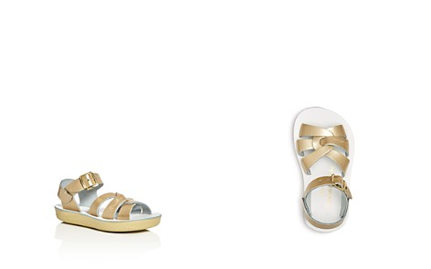Salt Water Sandals Girls' Sun San Metallic Swimmer Sandals - Walker, Toddler - Bloomingdale's_2
