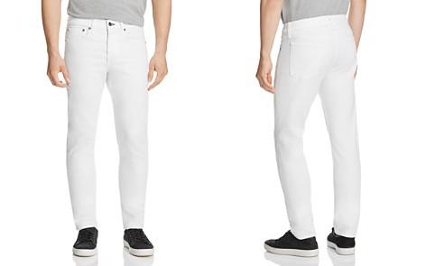 rag & bone Standard Issue Fit 2 Slim Fit Jeans in White - Bloomingdale's_2