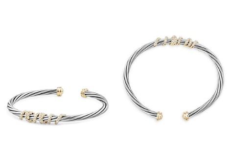 David Yurman Helena Center Station Bracelet with Diamonds and 18K Gold - Bloomingdale's_2