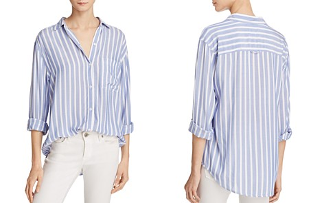 Rails Janelle Striped Button-Down Shirt - 100% Exclusive - Bloomingdale's_2