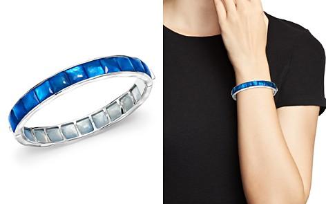 IPPOLITA Sterling Silver Rock Candy® Wonderland Channel Set Bracelet in Ultramarine - Bloomingdale's_2