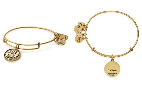 Alex and Ani Claddagh Expandable Wire Bangle - Bloomingdale's_2