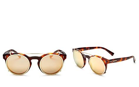 Valentino Women's Round Sunglasses, 45mm - Bloomingdale's_2
